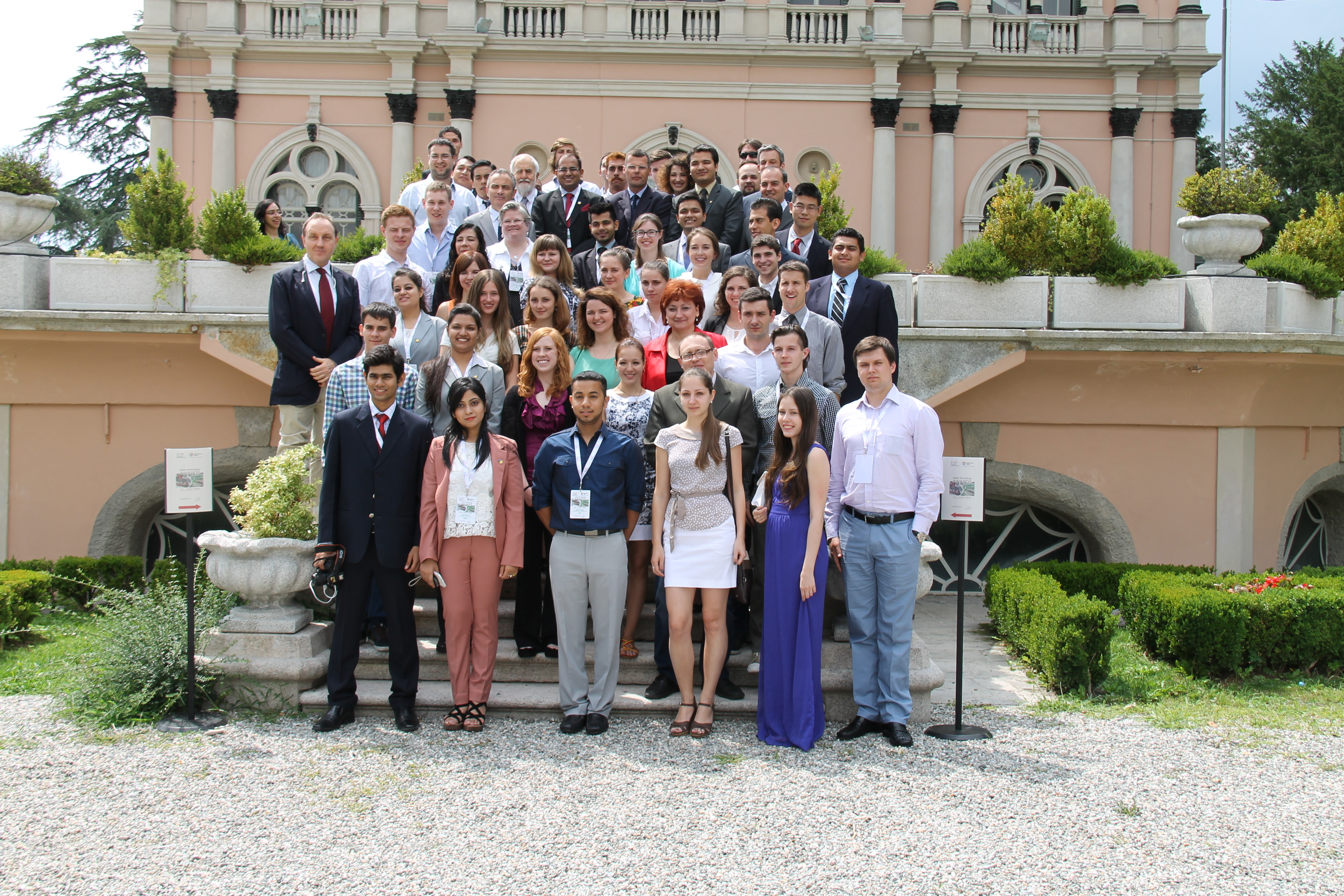 2014 Italian Technology Award Student and Faculty Award Winners