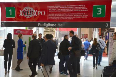 Entrance to Xylexpo 2014